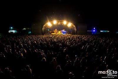 Noisettes headlining The Big Feastival 2012