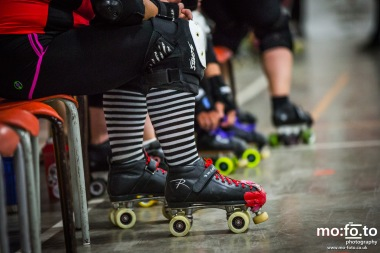 Roller Derby - Avalanche City Vs Dirty South All Stars - 7th June 2014