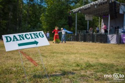 Couple dancing to JP Hoe at Wapiti Festival 2014- 9th August 2014