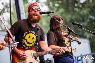 The Strumbellas at Wapiti Festival 2014- 9th August 2014