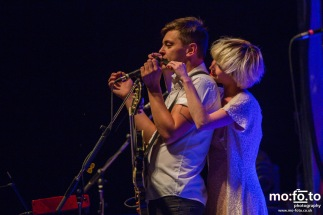 July Talk headlining Saturday night at Wapiti Festival 2014- 9th August 2014