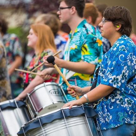 Global Drums, University of Lethbridge, at Mountainside Church, Fernie - 28th September 2014