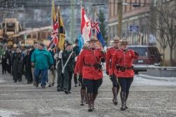 Remembrance Day Service - Fernie - 11 November 2014