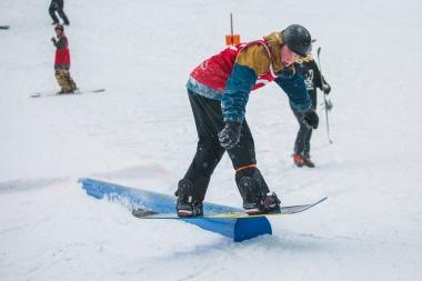 Kinky Rail Jam- Fernie Alpine Resort - 10 January 2015