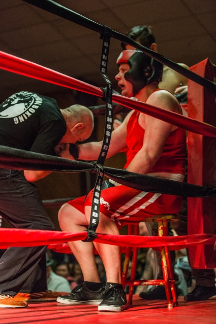 Judgement Night - Fernie Community Centre Boxing Charity Event In Aid of Smiles for Shyanne - 7th February 2015