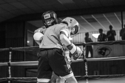 Judgement Night - Fernie Community Centre Boxing Charity Event In Aid of Smiles for Shyanne - 7th February 2015 - Eli Dychencho Vs Gavin Basla